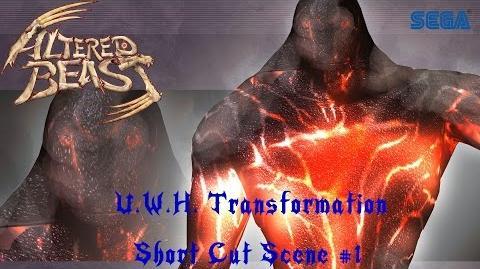 Project Altered Beast (PS2) Transformation Cut Scene - U.W.H. TF 1