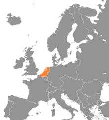 Locatie van Nederlandstalig land