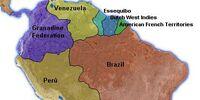 South America in 2001 (British Louisiana)