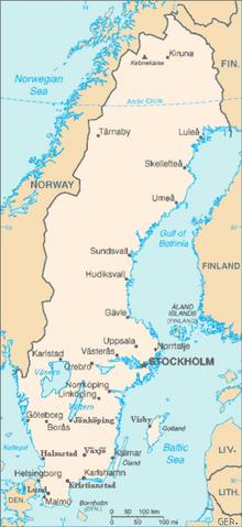 Skövde in Sweden
