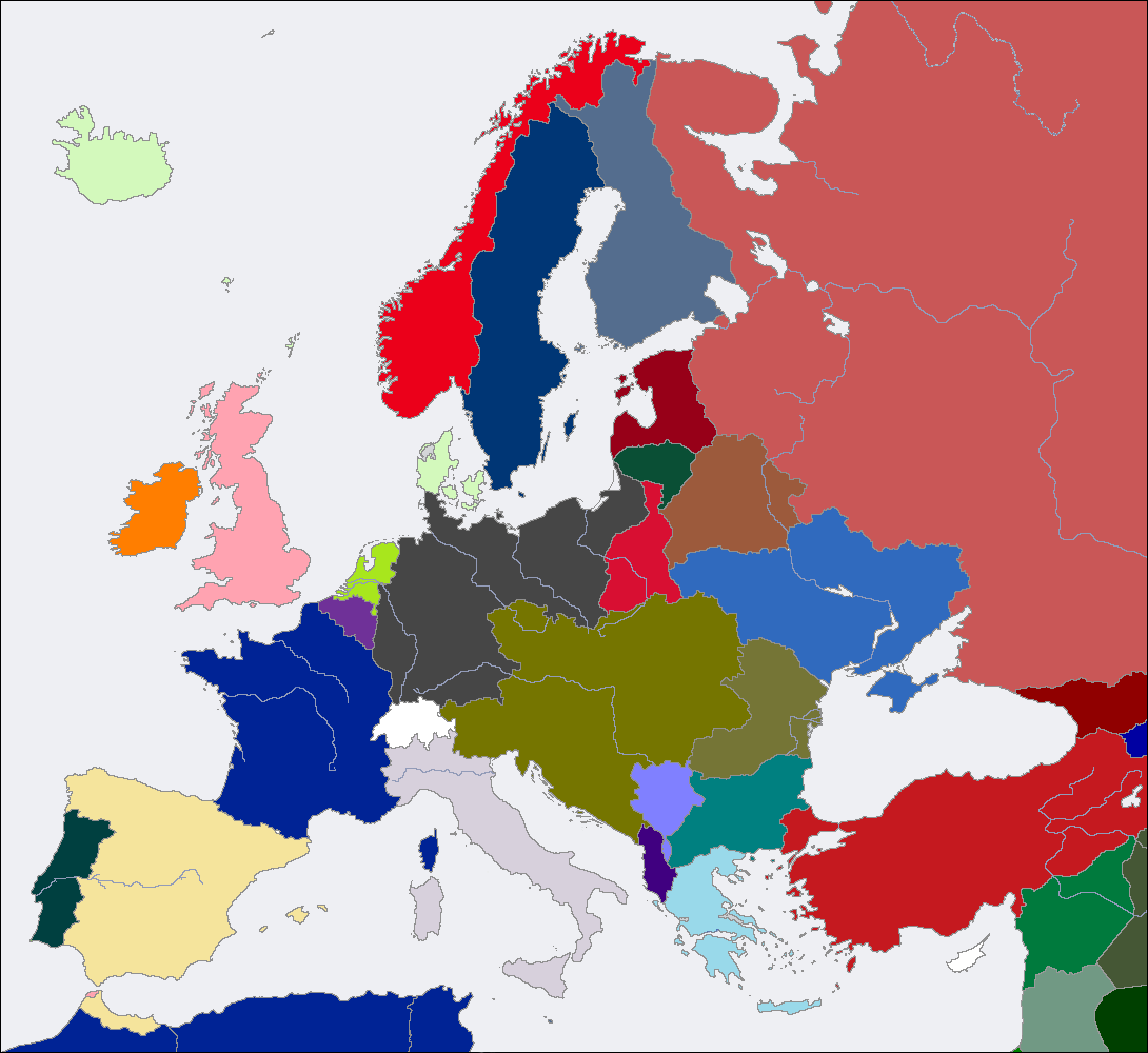 Image CV Europe Map Png Alternative History FANDOM - Europe map after world war1
