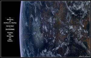 Arthur C Clarke by hoevelkamp-1-