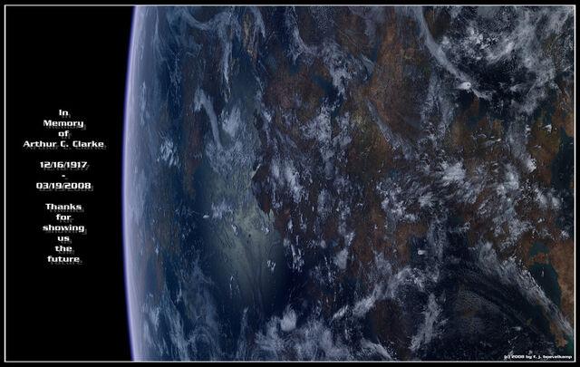 File:Arthur C Clarke by hoevelkamp-1-.jpg