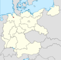 Locator map Bremen in Germany (IM)