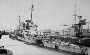SMS Seydlitz after Jutland