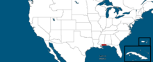 States of the USA, West Florida (Alternative 2014)