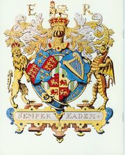 Elizabeth 1st Three Countries Coat of Arms