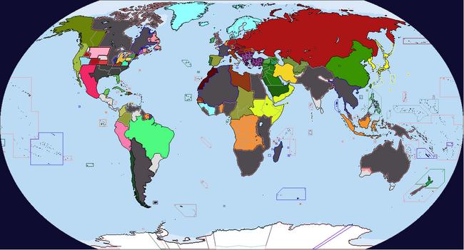 Diversa Pars Map Game 1937 Map