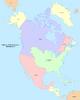 Map of North America (No Napoleon)