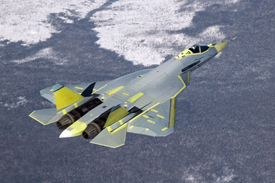 File:Pak fa in flight.jpg