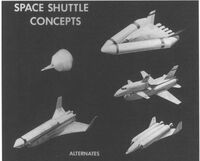 Space shuttle concepts