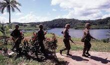 US troops in Panama