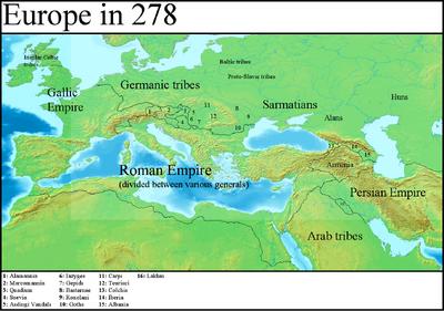 Europe in 278 (Gaul Rising)