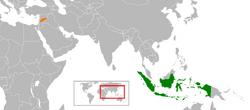 Indonesia North Syria Locator