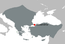 Alexandria Byzantia location