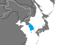 Location of South Korea (Nuclear Apocalypse)