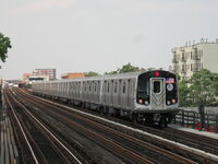 NYC Subway 8958 on the W