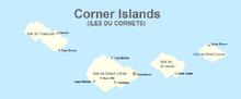 Corner ilands