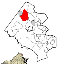 200px-Fairfax County Virginia Incorporated and Unincorporated Areas Reston highlighted svg