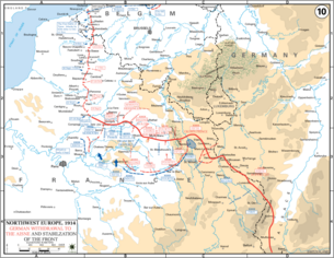 Stabilization of Western Front WWI