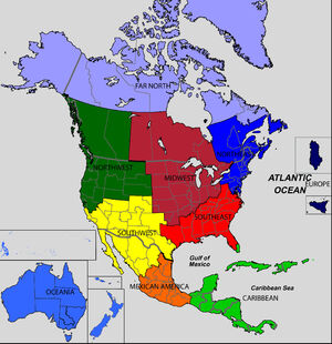 NorthAmerica regions