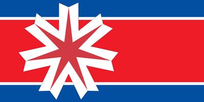 Flag of Communist North Japan