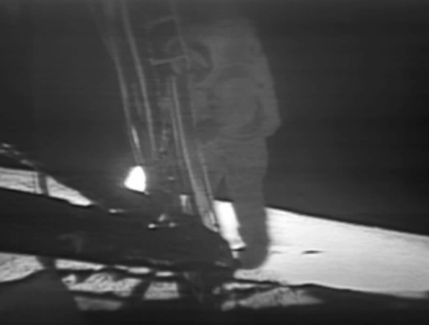 File:Apollo 11 first step.jpg