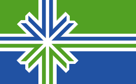 File:Lake County flag flat.png