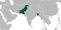 Pakistan (Cherry, Plum, and Chrysanthemum)