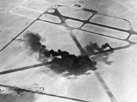 Bombing of an Persian Airfield