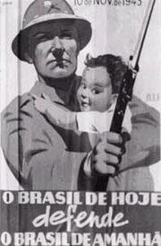 Brazilian Texanian war Poster 2