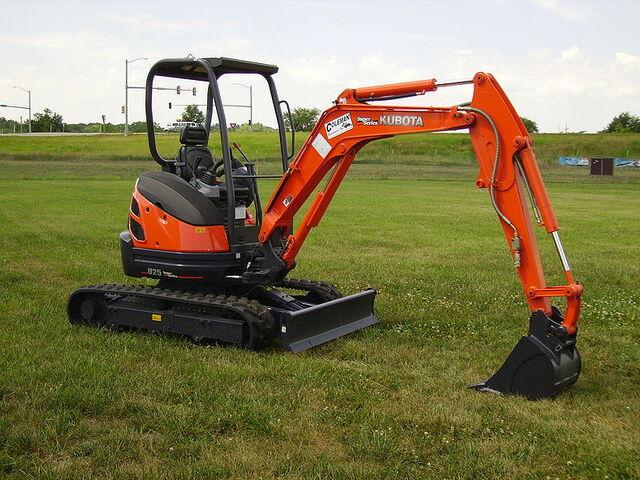 File:Kubota Compact Excavator.jpg
