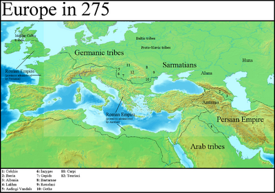 Europe in 275 (Gaul Rising)
