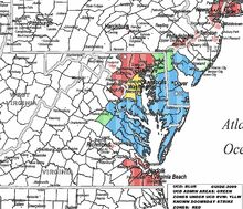 83DD Delmarva Map 2009