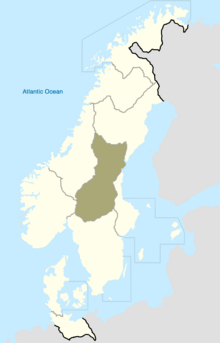 Svealand Map