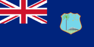 Flag of the British West Indies (Central Italy)