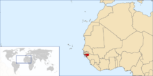 Guinea-BissauMAP