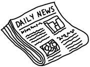 Newspaper bw