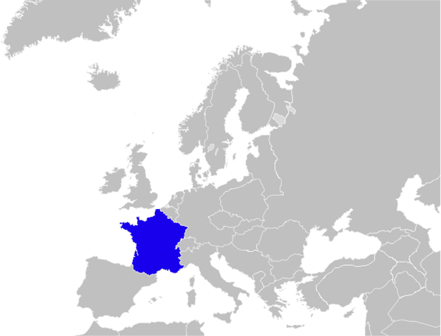 File:Blank Map of Europe France.png