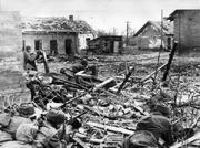 Soviet soldiers at stalingrad