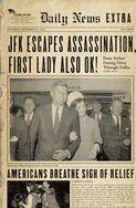 JFK escapes assassination paper