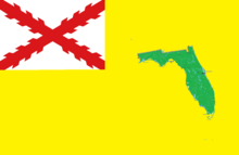 Flag of Spanish Florida