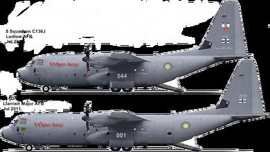 Welsh AF C130