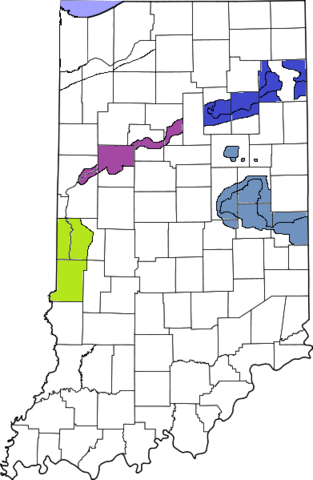 File:391px-Map of Indiana5 highlighting Lake County.png