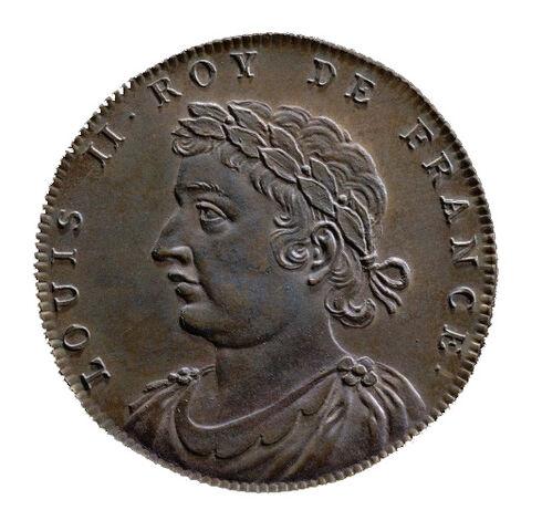 File:Jean Dassier - Louis II. roy de France.jpg