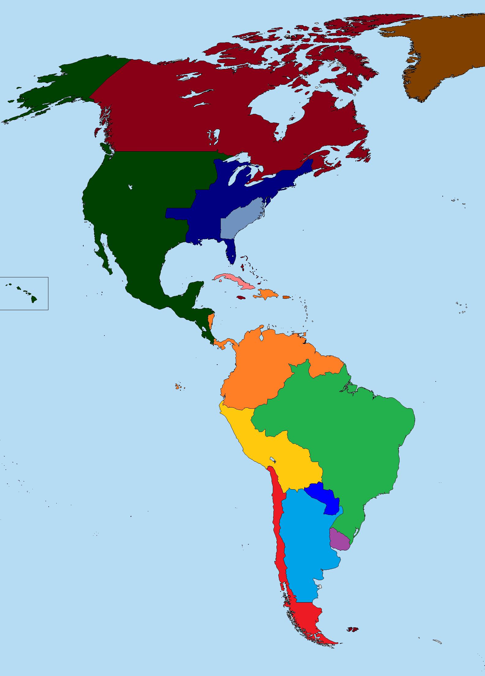 Batalla Continental Juego De Mapas Historia Alternativa - America mapa juego
