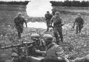 Fallschirmjägers during Operation Freudenthal 1938 2 (Munich Goes Sour)