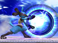 Lucario in Super Smash Bros Brawl