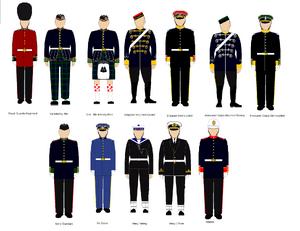 Full Scottish Ceremonial Uniform