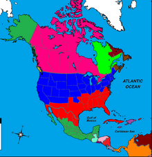 Map of North America (Civil War Stalemate)
